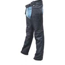 Унисекс кожаные штаны чапсы с фурнитурой Buffalo