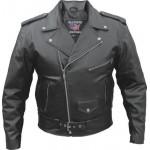 Мужская кожаная куртка косуха Split Cowhide