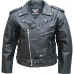 Мужская куртка косуха со съемной подкладкой Split Cowhide